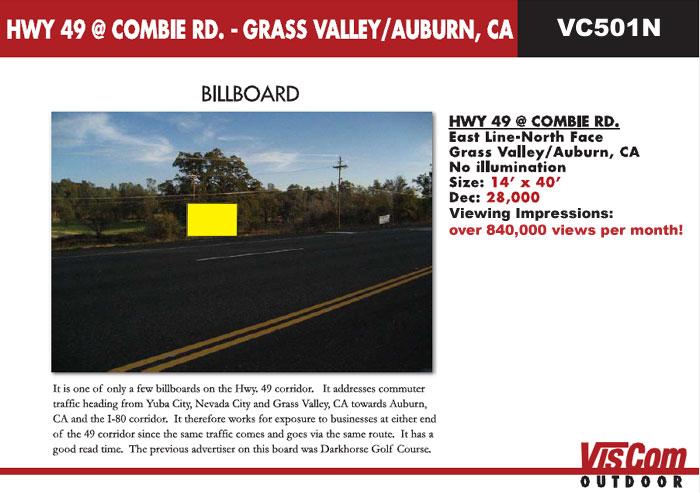 billboard hwy 49-combi road auburn ca