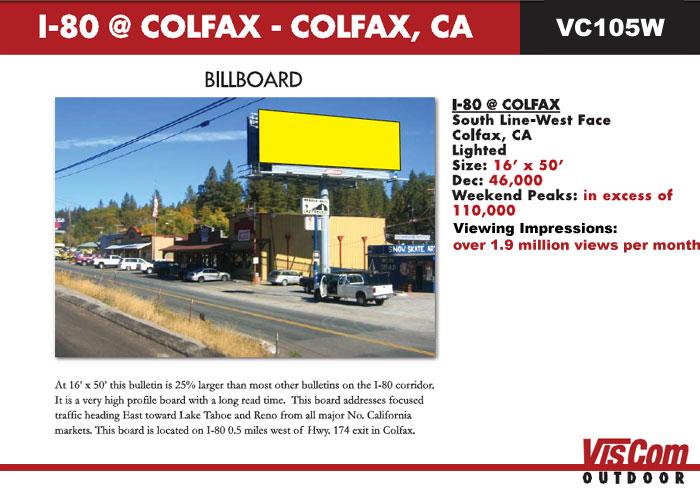 billboard i80 colfax ca