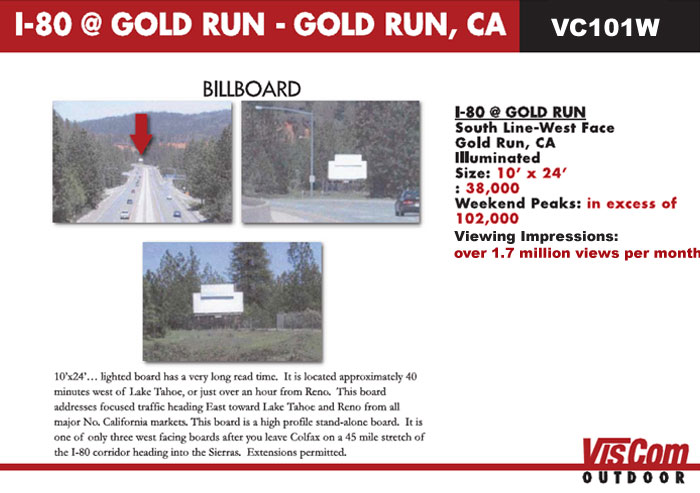 billboard i-80 gold run ca